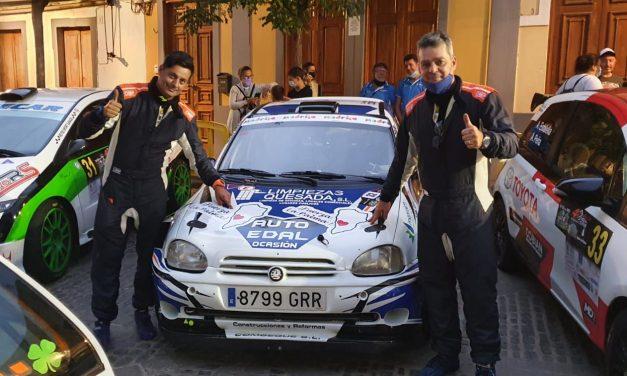 Santana – Quesada finalizan el 40 Rally Villa de Teror dedicándole la carrera a todos los palmeros.
