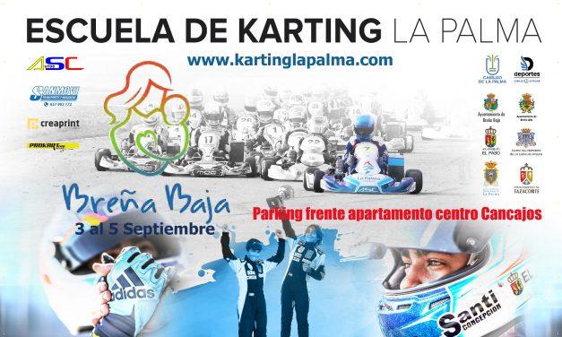 ESCUELA DE KARTING LA PALMA: BREÑA BAJA ACOGERÁ EL 2º CAMPUS ESCUELA DE KARTING.