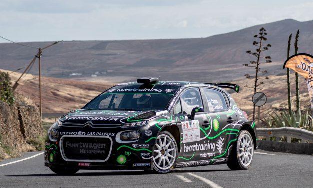Emma Falcón y Eduardo González vuelven en el 40 Rally Villa de Teror