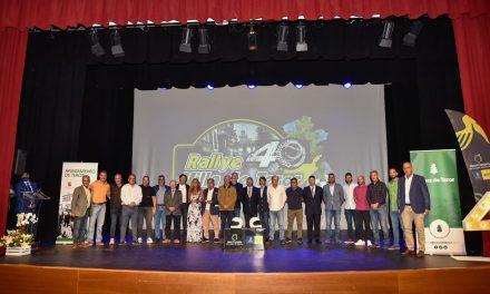 El Auditorio de la Villa de Teror acogió la presentación de 'su rally'