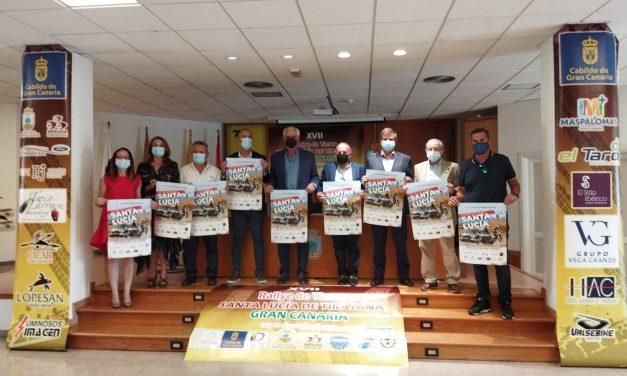 Rallye Tierra Santa Lucía de Tirajana y Slalom-GC… 41 equipos y pilotos participantes en elrallye y 53 para el slalom… Rutómetro y tramos