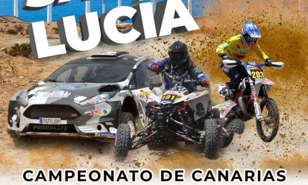 Cierre de inscripciones, cartel y presentación oficial para el XVII Rallye de Tierra de Santa Lucía de Tirajana
