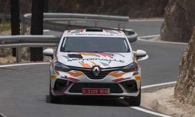 Sergio Fuentes y Abraham Báez estarán en el Rallysprint de Atogo con el Renault Clio Rally4