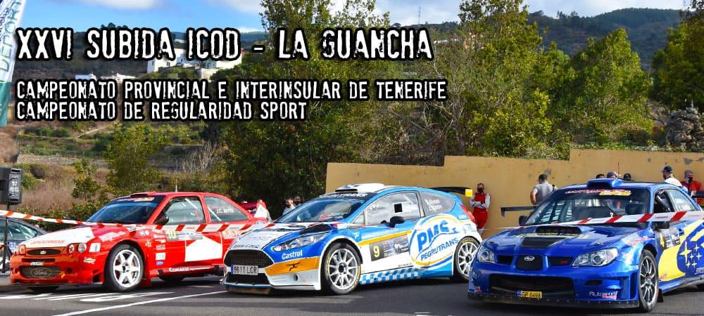 La Escudería Daute Realejos activa este jueves (ayer) el portal web de la XXVI Subida Icod-La Guancha